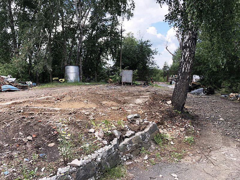 РТИ - фото13. Зачистка местности после демонтажных работ