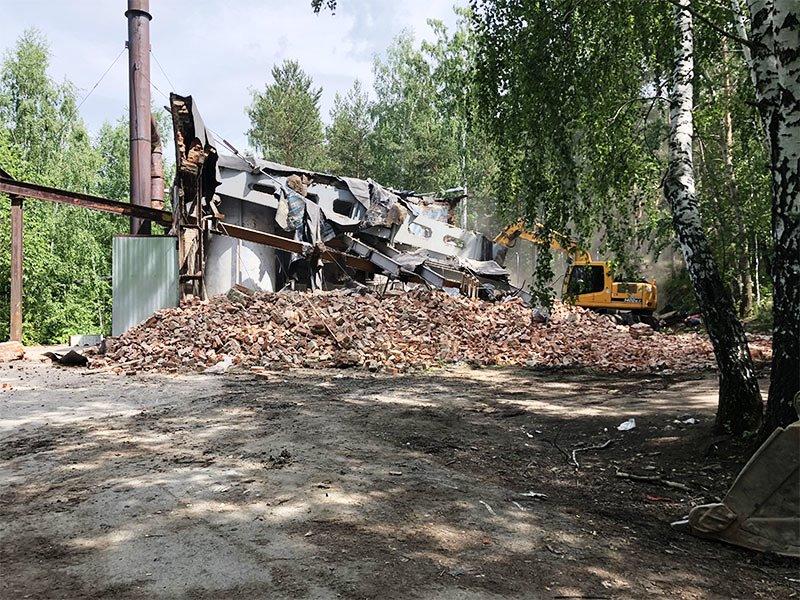 РТИ - фото4. Разрушение здания