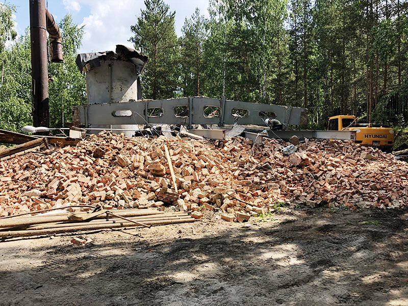 РТИ - фото7. Демонтаж перекрытий здания