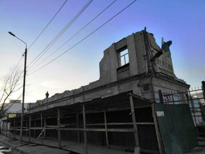 ОАО Иркутскэнерго - фото4. Аварийное здание под снос