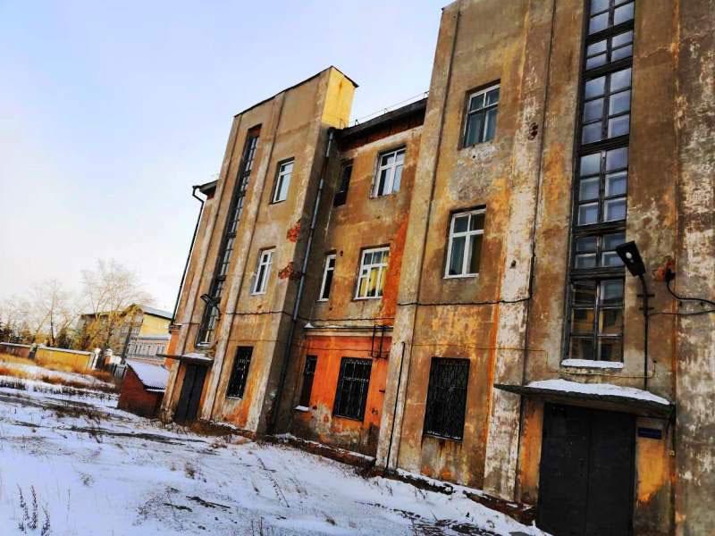 ОАО Иркутскэнерго - фото5. Перед началом сноса здания