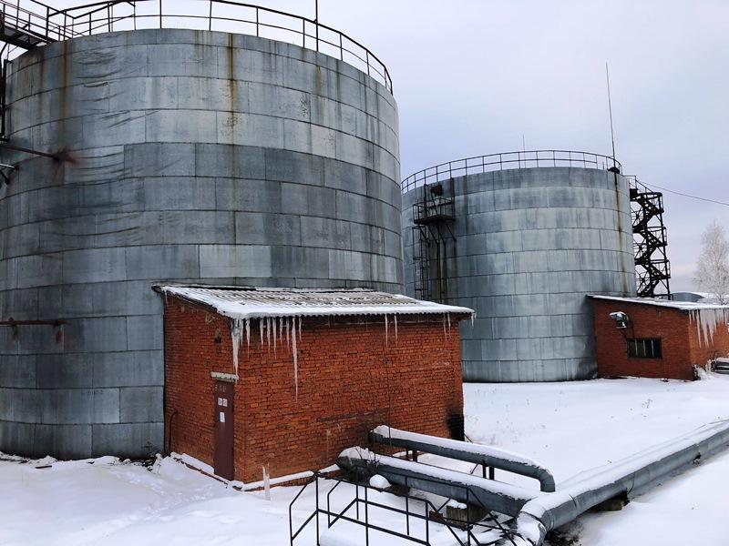 СТКАО МАШ. Фото3 - Объект демонтажа резервуаров РВС-2000