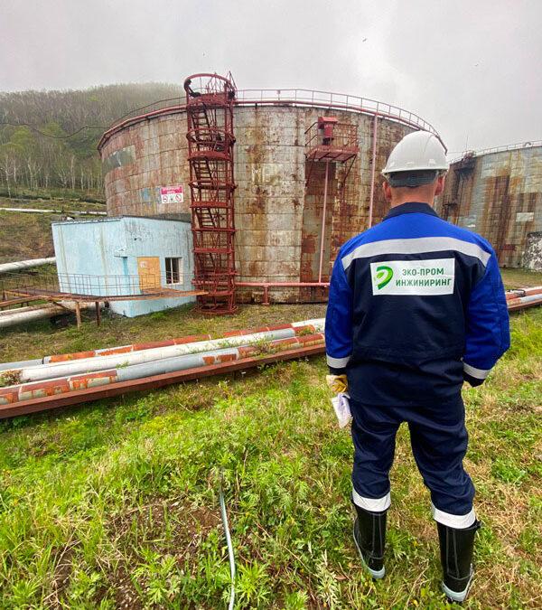 Зачистка от донных отложений и подготовка РВС к ЭПБ на «Камчатскэнерго»