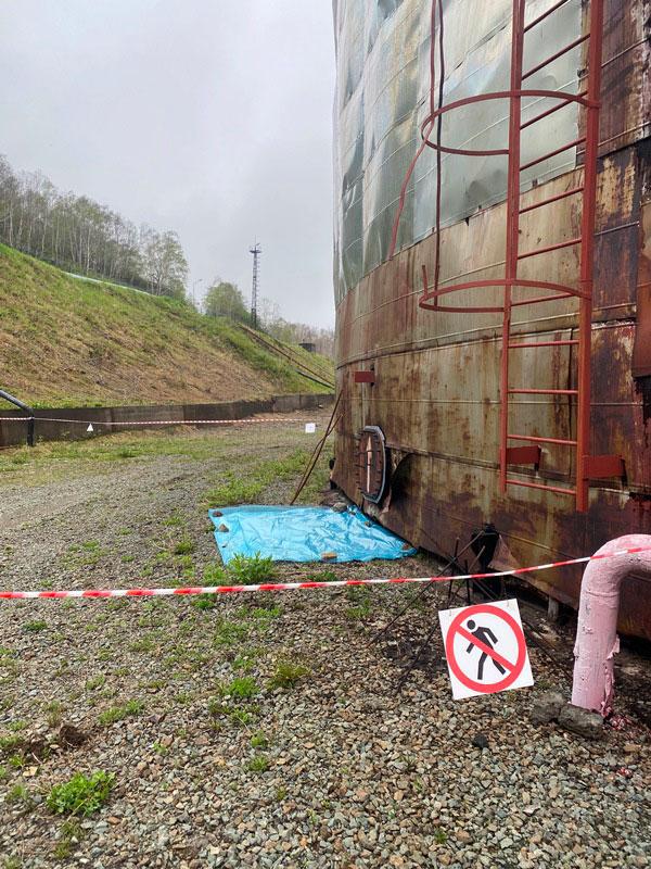 КамчатскЭнерго. Фото3 - РВС 10000 подготовительные работы