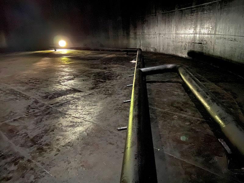 КамчатскЭнерго. Фото8 - РВС 10000 вид после зачистки